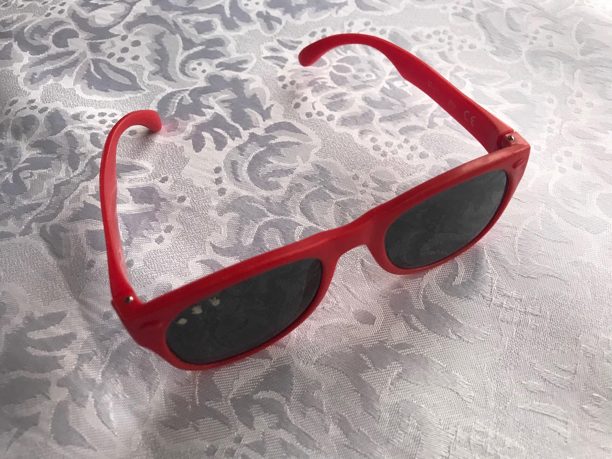 McFly Red Roshambo Baby Junior Shades: 1278 ppm Cadmium