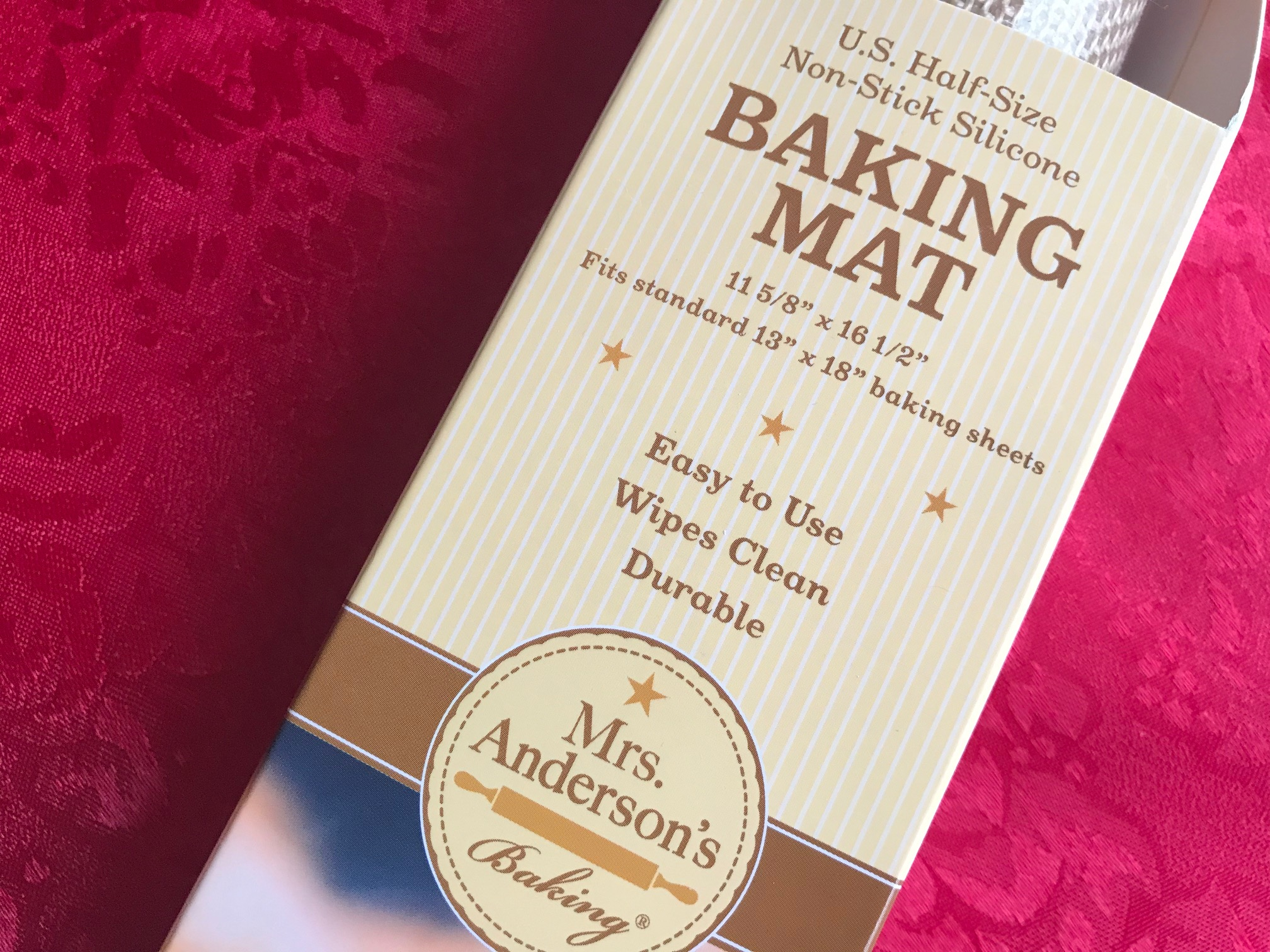 Mrs. Anderson's Non-Stick Silicone Baking Mat (2018): Positive for Trace Levels of Cadmium