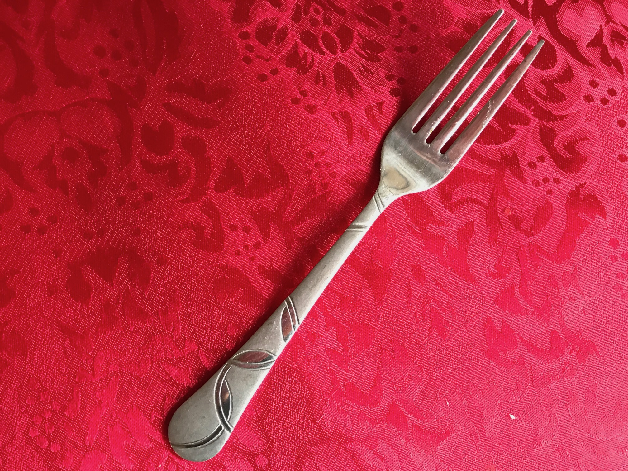 Cambridge Design Stainless Steel Fork, Made In China: Lead Free