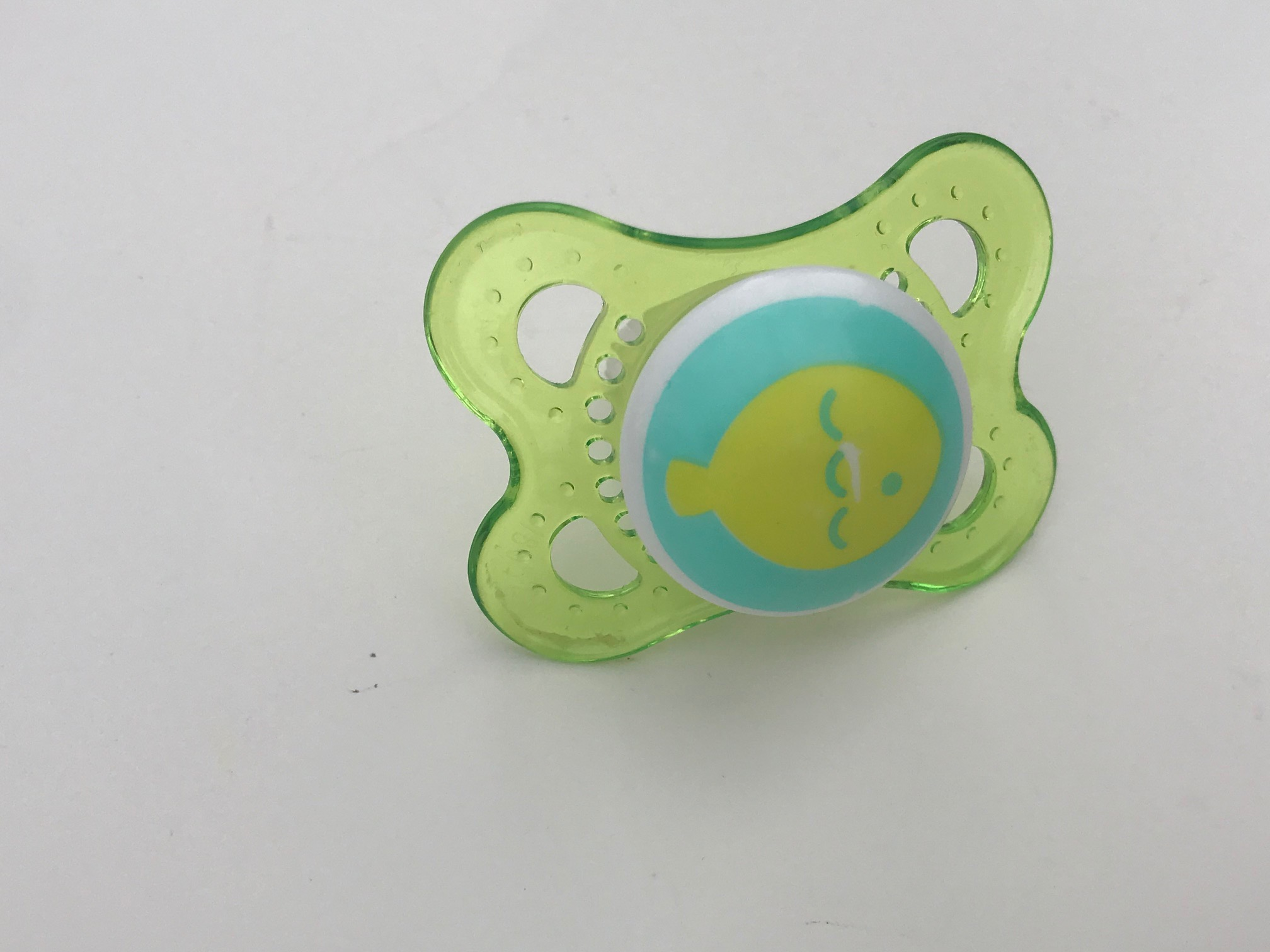 MAM Silicone Pacifier: Lead Free, Cadmium Free, Arsenic Free.