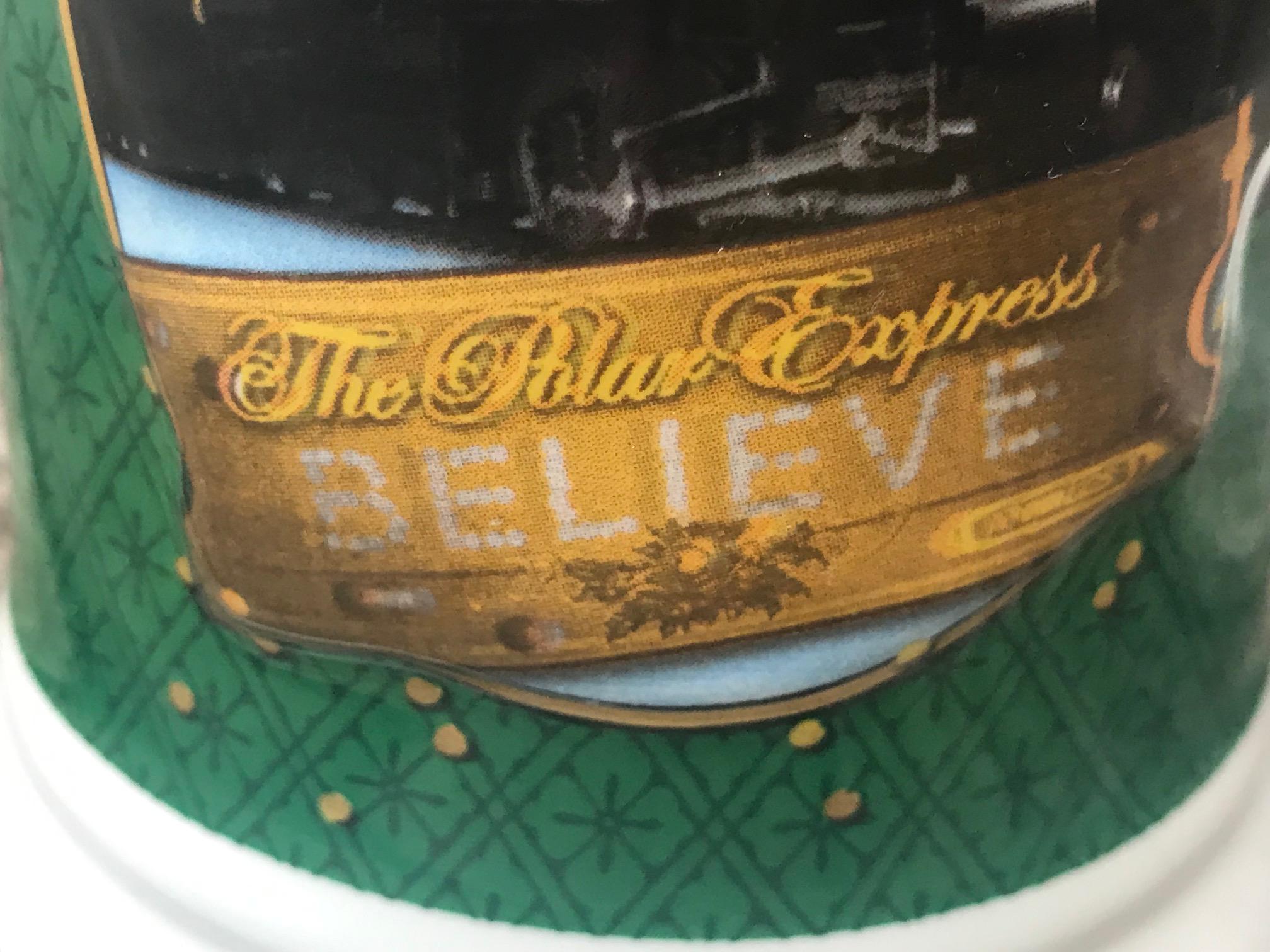 "c. 2016 ""The Polar Express"" Christmas Train Mug: 27,600 ppm Lead, 358 ppm Cadmium."
