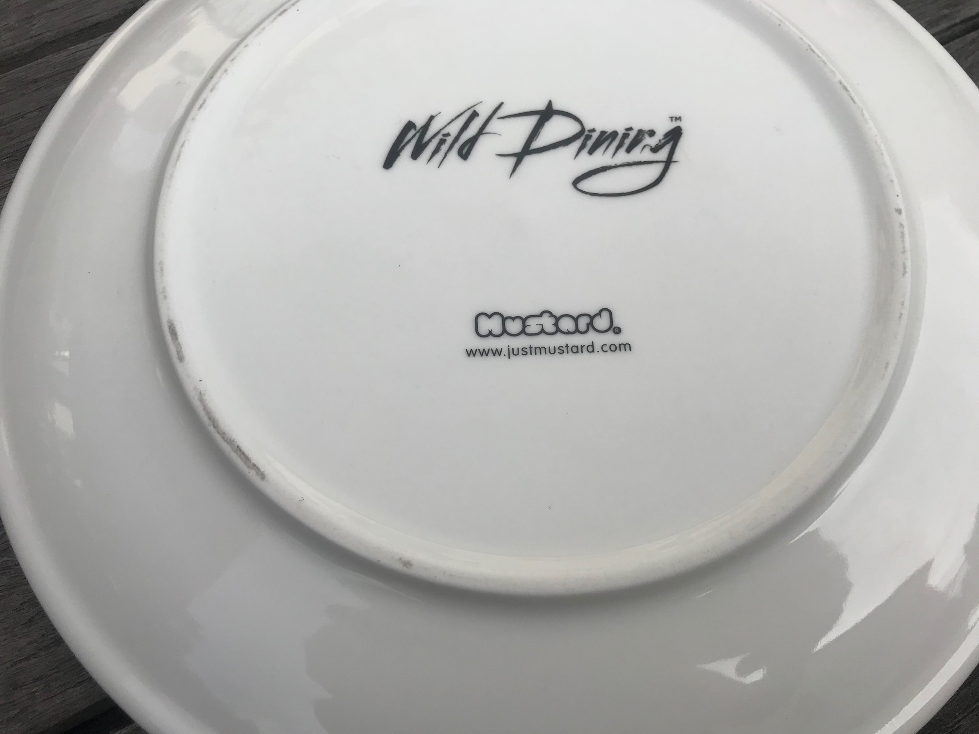 "New Wild Dining ""JustMustard"" Brand Larry Lion Plate: 34,300 ppm Lead + Cadmium too!"