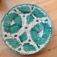 Green Mexico Plate Lead Safe Mama 1