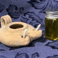 Handmade In Israel Olive Oil Lamp 3 b Lead Safe Mama