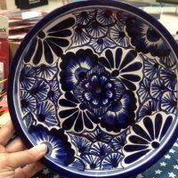 Nola Mexico Blue Plate 1