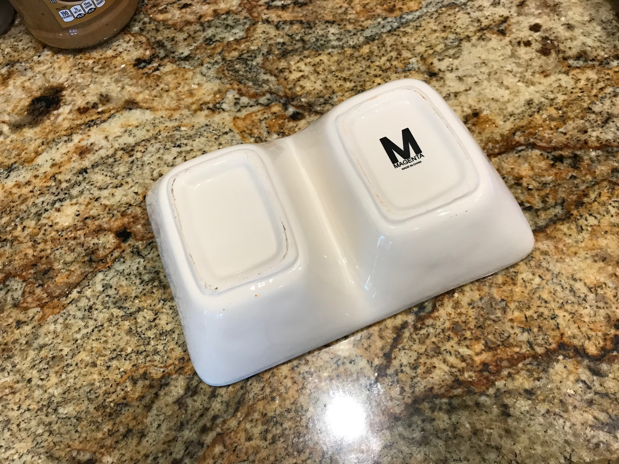 Rae Dunn (by Magenta) Snack / Treat Serving Dish, Made in China: 647 +/- 37 ppm Lead