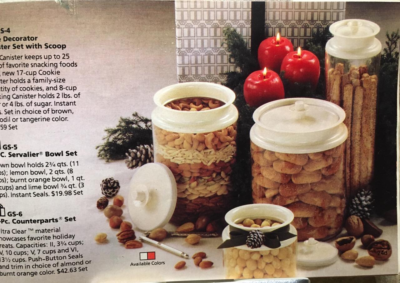 1982 Tupperware Ultra Clear Series Lead Safe Mama Toxic Tupperware