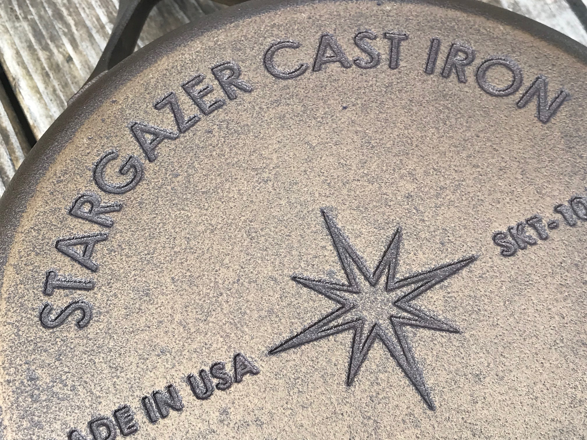 Stargazer Made In USA Pre-Seasoned Cast Iron: Lead Free [Cadmium Free, Mercury Free and Arsenic Free too!]