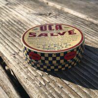 Vintage Tin of UCA Salve Lead Safe Mama 2
