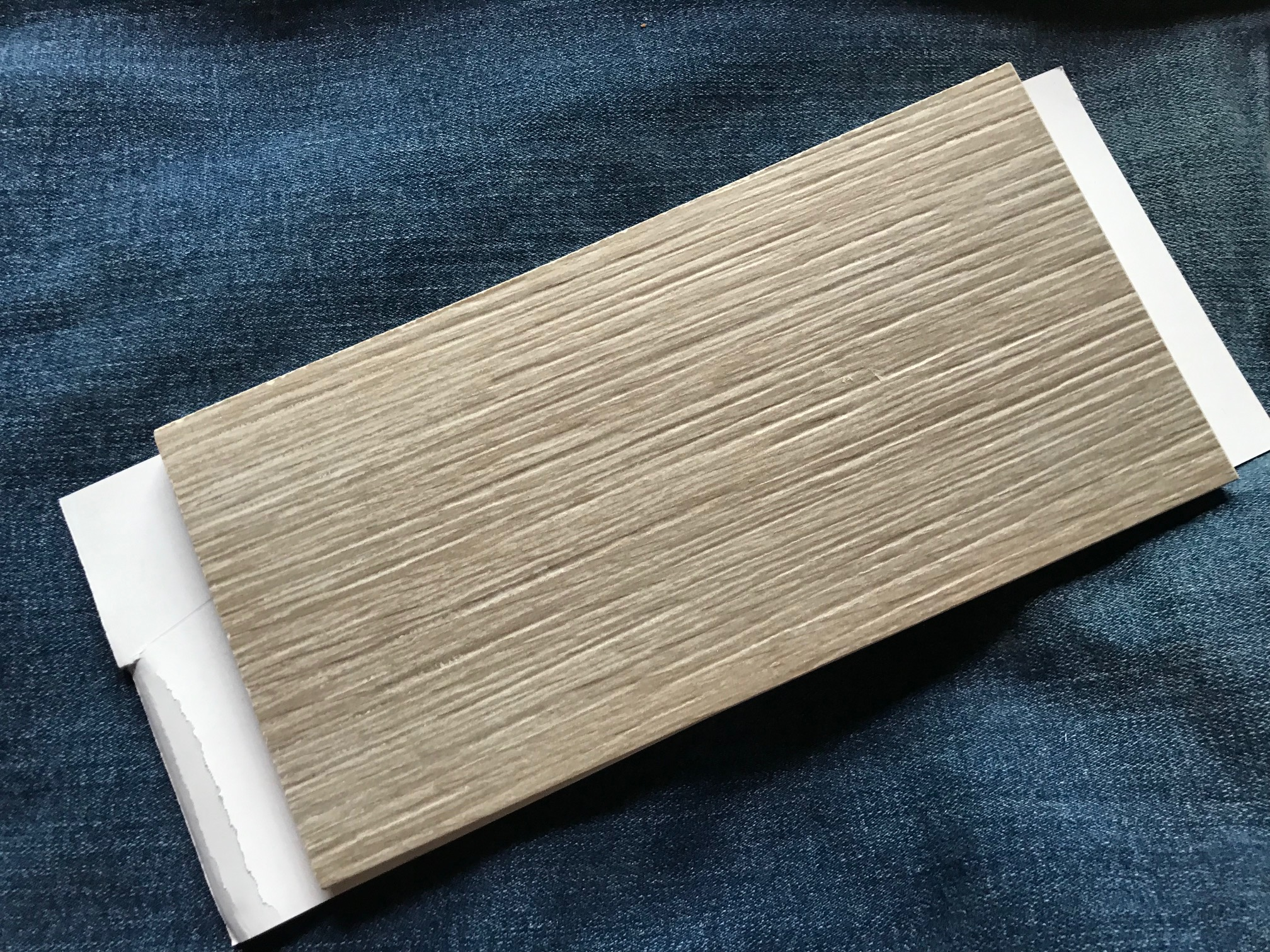 Montana Chestnut Natural Wood Look tile from tilebar: ND (negative) for Pb, As, Hg, Cd & Sb.