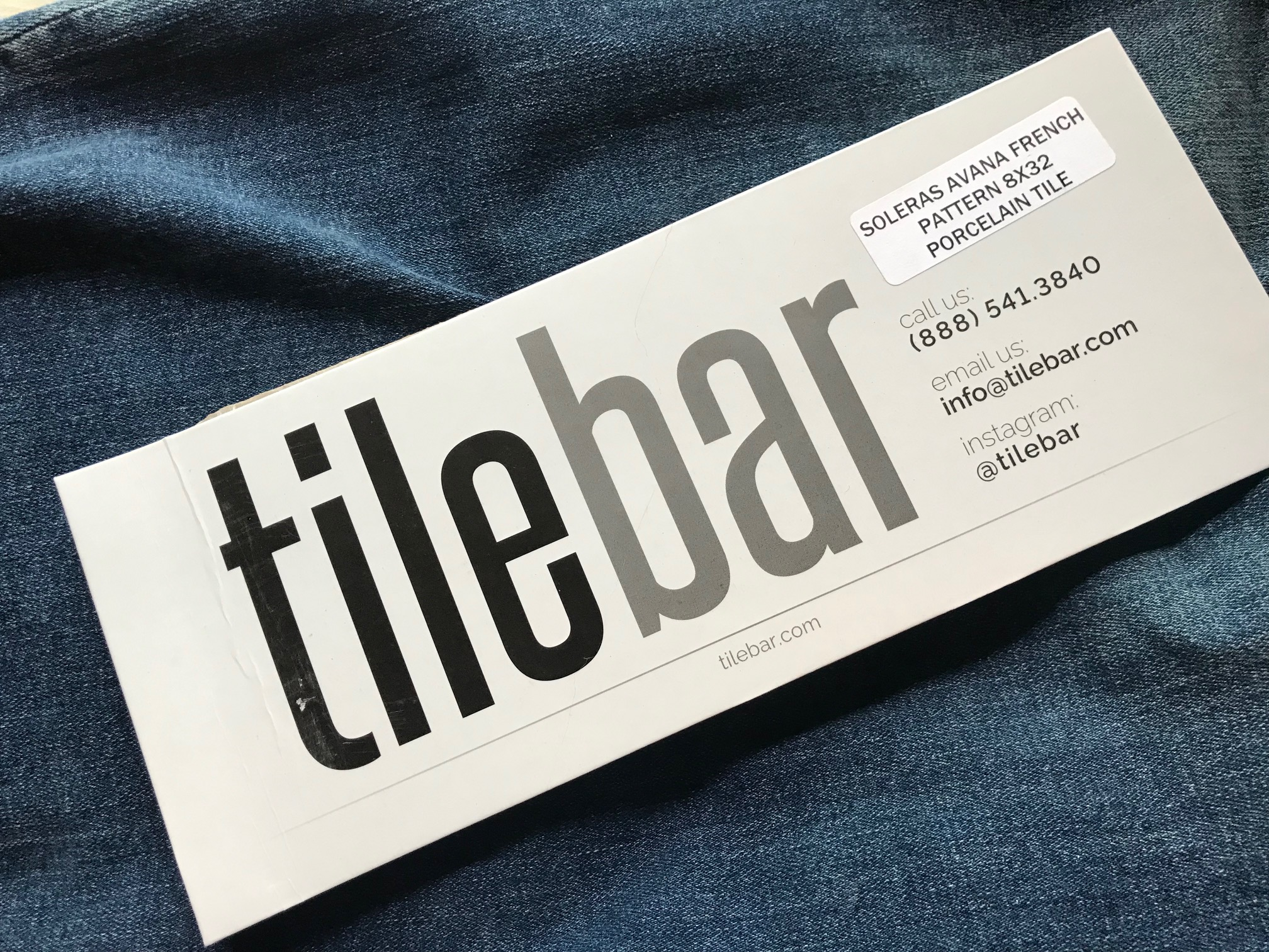 Soleras Avana French porcelain tile from tilebar: 284 ppm Lead (90 ppm is unsafe for kids' items)