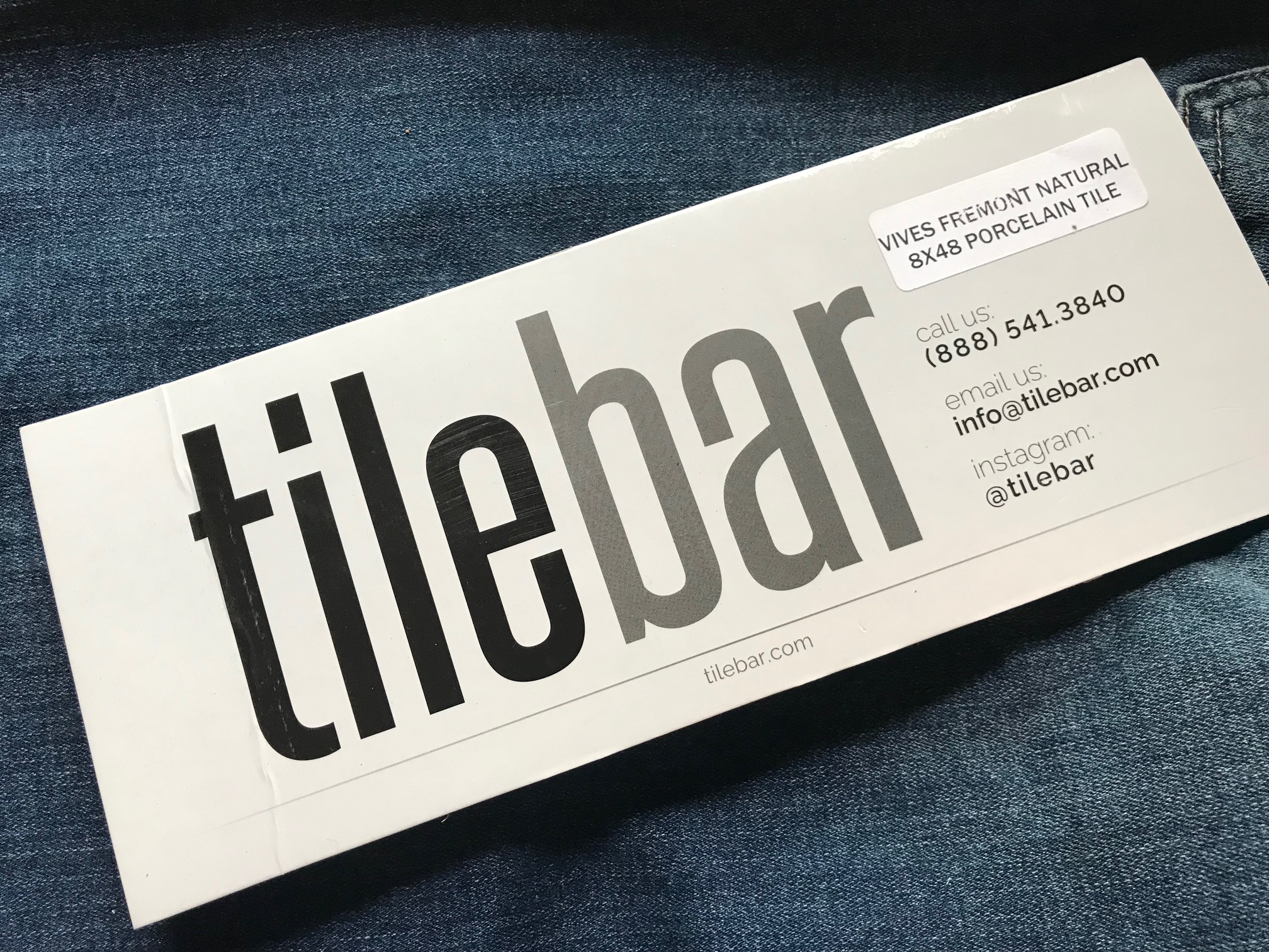 Vives Fremont Natural Porcelain Tile from tilebar: 268 ppm Lead (90 is unsafe in kids' items)