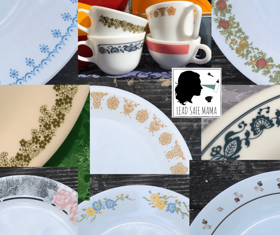 Corelle Recommends Using Their Pre 2005 Dishes As Decorative Pieces Due To Concerns For High Levels Of Lead Lead Safe Mama