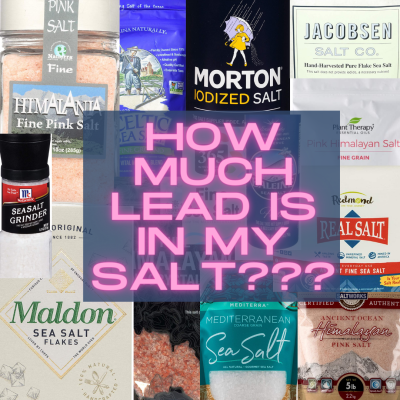 How much Lead is in salt? Which salt is safest to use for cooking? Is Himalayan salt safe?