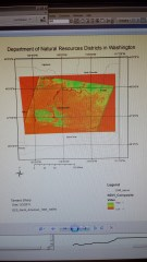 NDVI Department of Natural Resources in Washington
