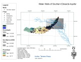 Water Wells of Southern Edwards Aquifer