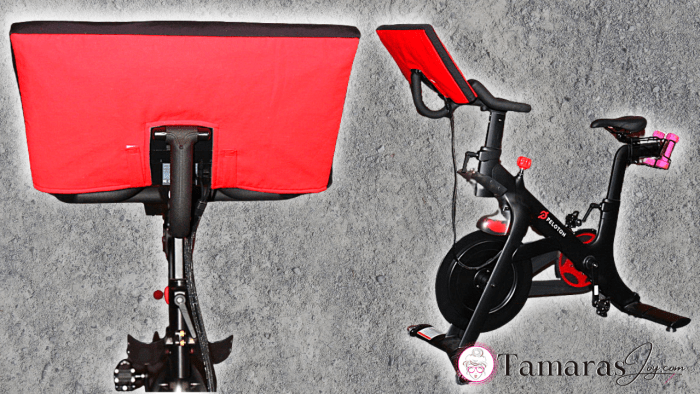 DIY Peloton Cover with free sewing pattern