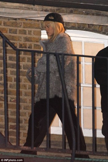 Rihanna Shooting a Video in London
