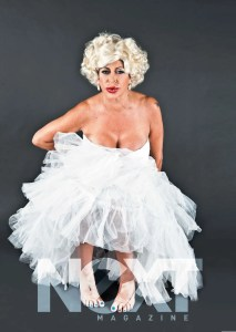 Mob Wives Big Ang as Marilyn Monroe!