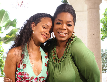 Rihanna on Oprah, A Reverse Recap of Sorts…