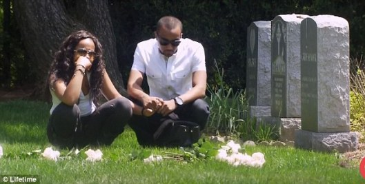 Was That Really Whitney Houston's Grave on Last Night's Show?