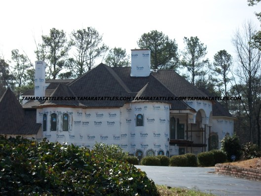 Work Has Resumed on Chateau Sheree!