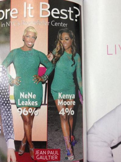 What's Wrong With This Picture? Nene and Kenya