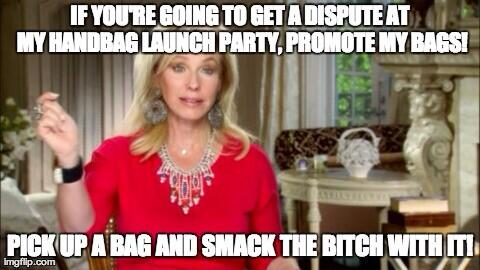 Real Housewives of Miami: Going to Hell in A Handbag