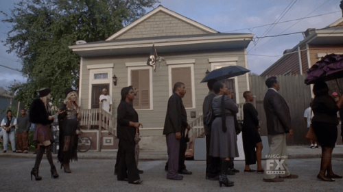 AHS Coven Funeral Procession