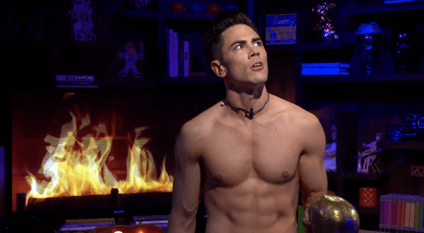 WWHL With Tom Sandoval and Kirsten Doubte, Andy Cohen 2014