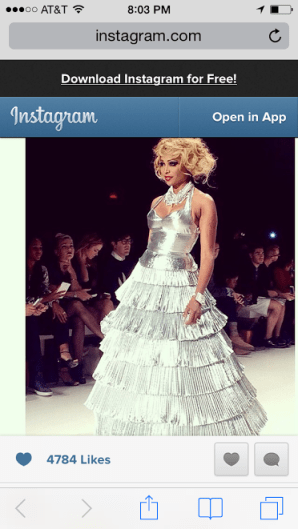 Cynthia Bailey Walks Betsey Johnson Runway For New York Fashion Week