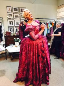 RHOA Nene Cinderella fitting