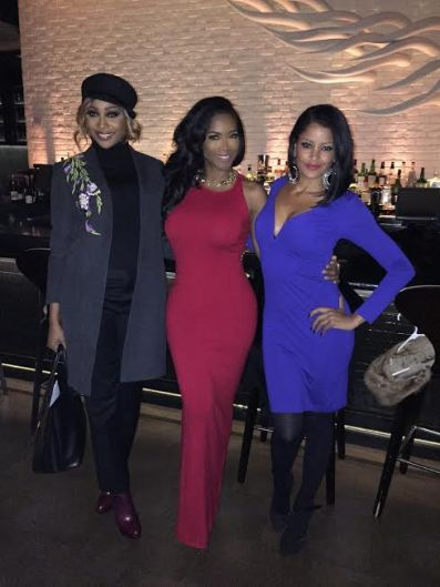 Kenya Moore's RHOA Friends Join Her To Celebrate!