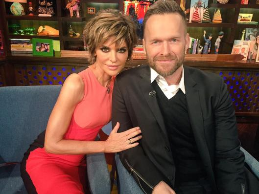 WWHL With Lisa Rinna And Bob Harper