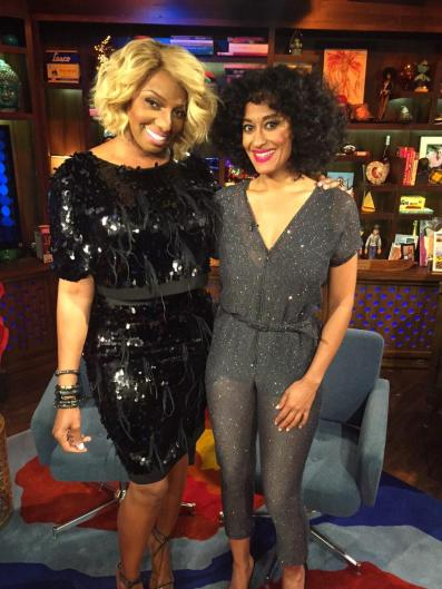 WWHL With Nene Leakes And Tracee Ellis Ross