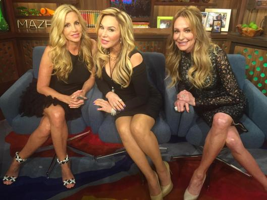 WWHL With Adrienne, Taylor and Camille