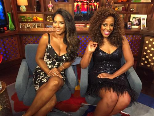 Daisy appeared with Kenya Moore on WWHL