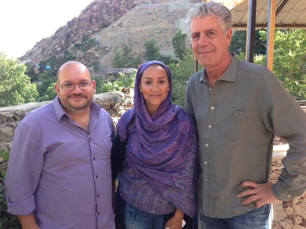 Imprisoned Journalists from Bourdain's Parts Unknown