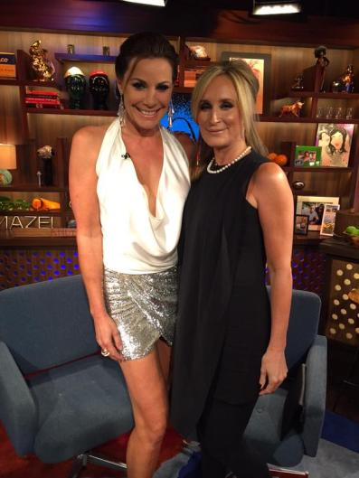 WWHL with Luann and Sonja