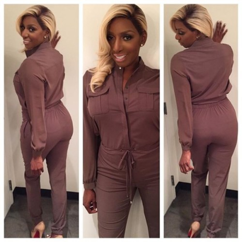 Nene wore her clothing line to rehearsal today