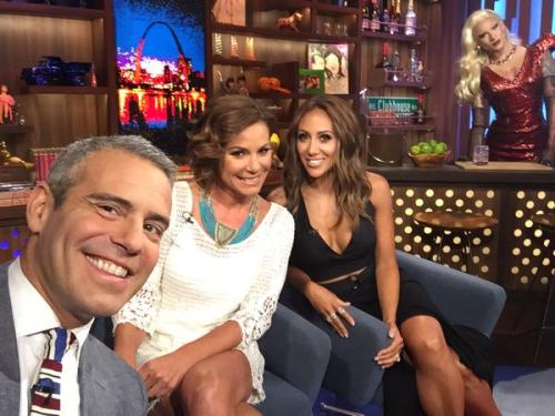 WWHL Luann and Melissa