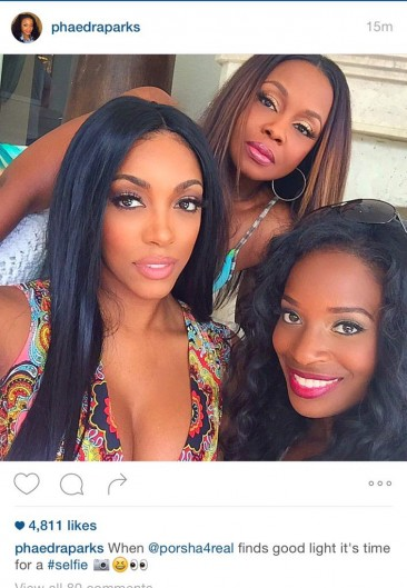 Despite what I am about to say, Phaedra and Porsha look fabulous here.