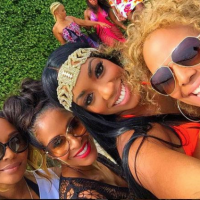 RHOA Filming Tea: A Lost Peach, A Former Athlete, and an Early Departure...