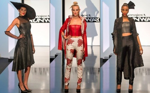 Project Runway Candice's look