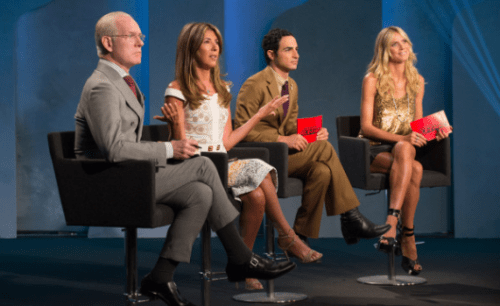 Project Runway Judges critiques