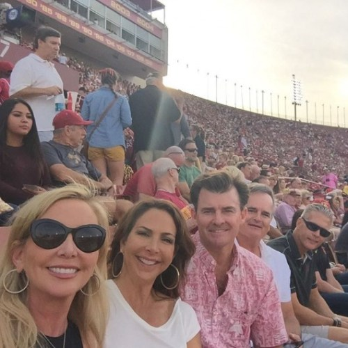 Shannon and David At USC Game 10/24/15
