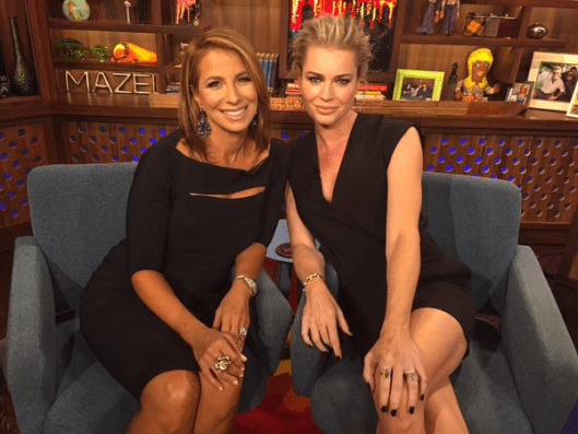 WWHL With Jill Zarin and Rebecca Romijn