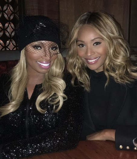 This is a photo of Nene and Cynthia Nene posted while Cynthia was in LA
