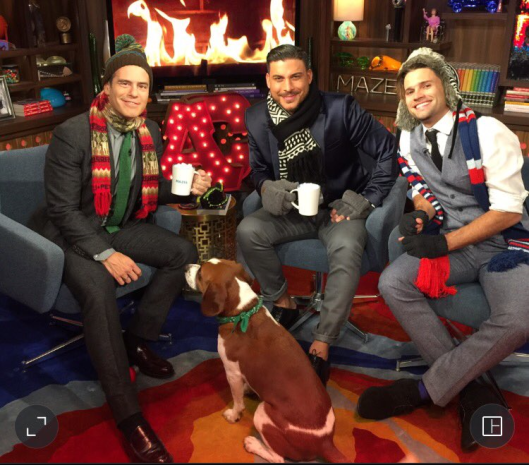 WWHL With  Jax Taylor and Tom Schwartz