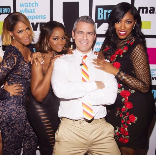 WWHL With Some RHOA THOTs Talking About Kenya Moore